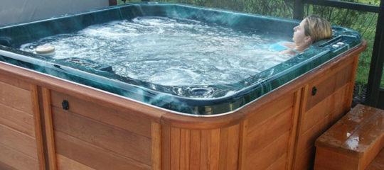 Modèle de spa de nage